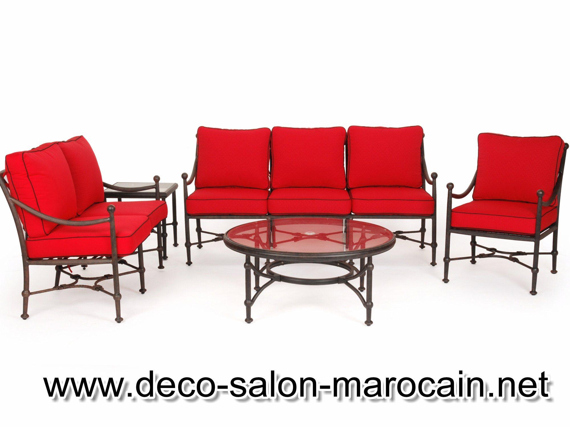 Salon De Jardin Fer Forgé Marocain | Best Salon De Jardin Canape ...