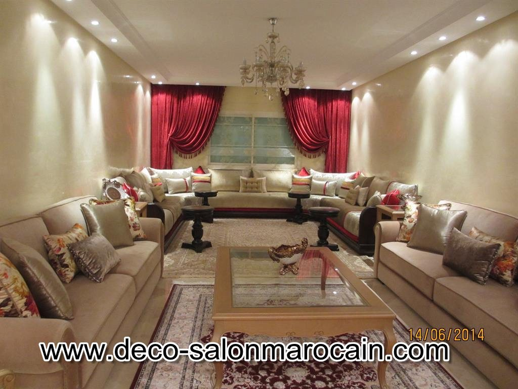 Salon Arabe Moderne 2016 Déco Salon Marocain