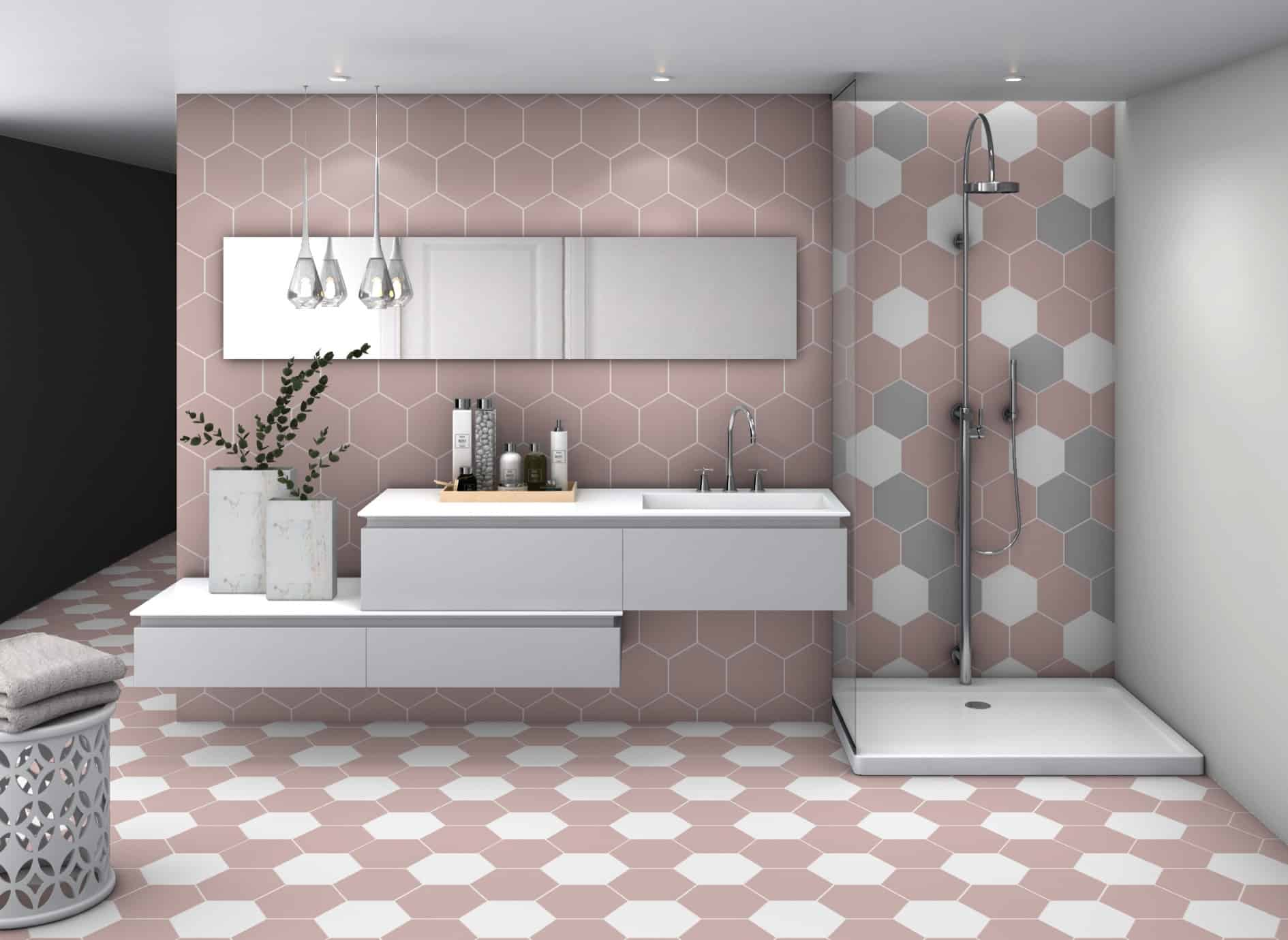 Deco Hex Basic Rose Decobella South Africa 0036 Pnk