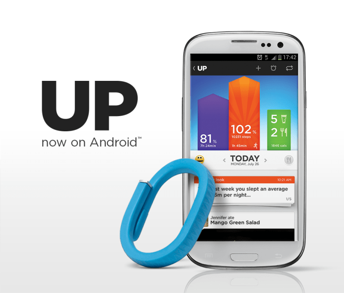 Jawbone UP Android