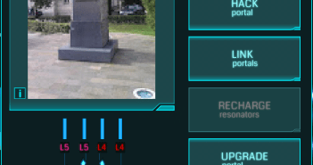 A Portal's Info Card with Energy Level in the top right corner.