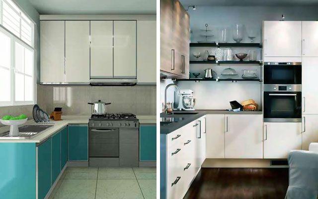 How to maximize a small kitchen? Check more at    hdinterior - cocinas en l
