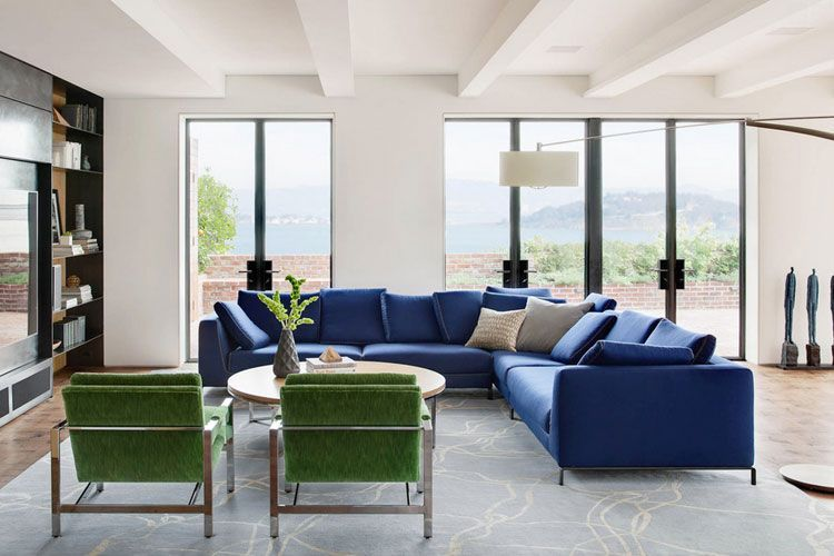 Decoración Sofas Verdes | Decorar El Salón Con Sofás De Color