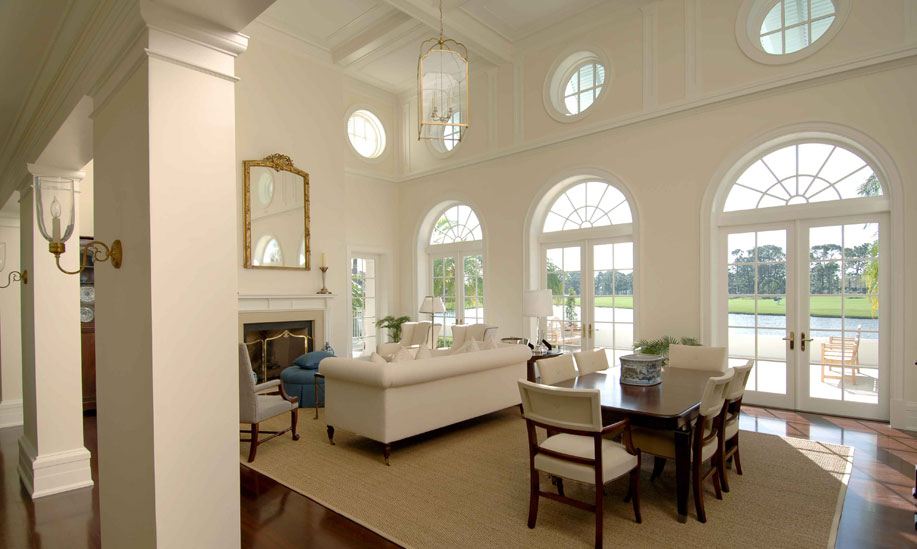 ocular circle windows french doors radius transoms contemporary french kitchen design kitchen tables images hnydt