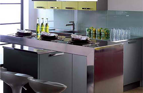 small kitchen design metal bar stylish table eat small kitchen ideas decoholic