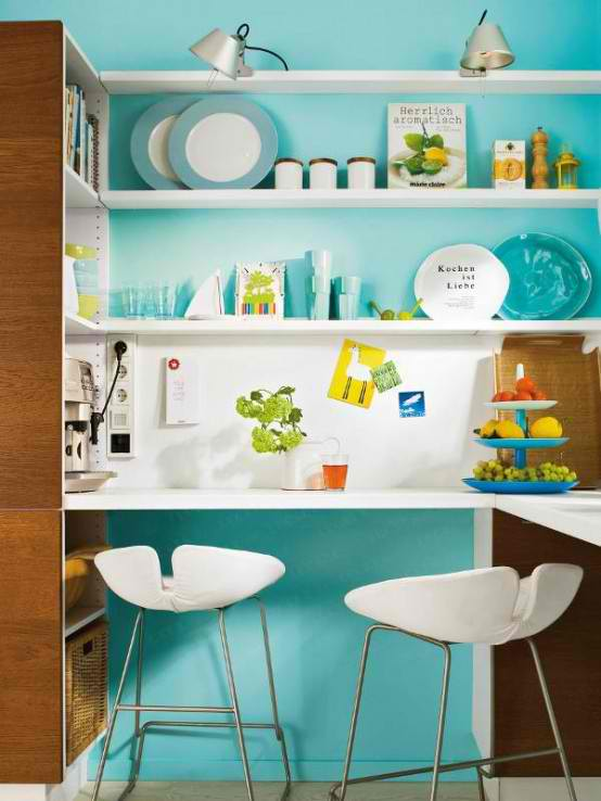turquoise small kitchen design kitchen stand bar stylish table eat small kitchen ideas decoholic