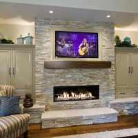 20 Amazing TV Above Fireplace Design Ideas - Decoholic