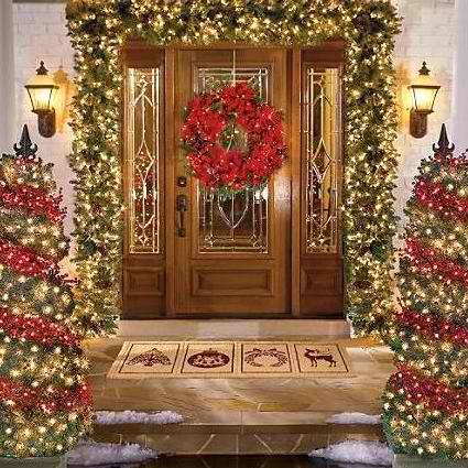30 Outdoor Christmas Decorations - Decoholic - christmas decorations for outside