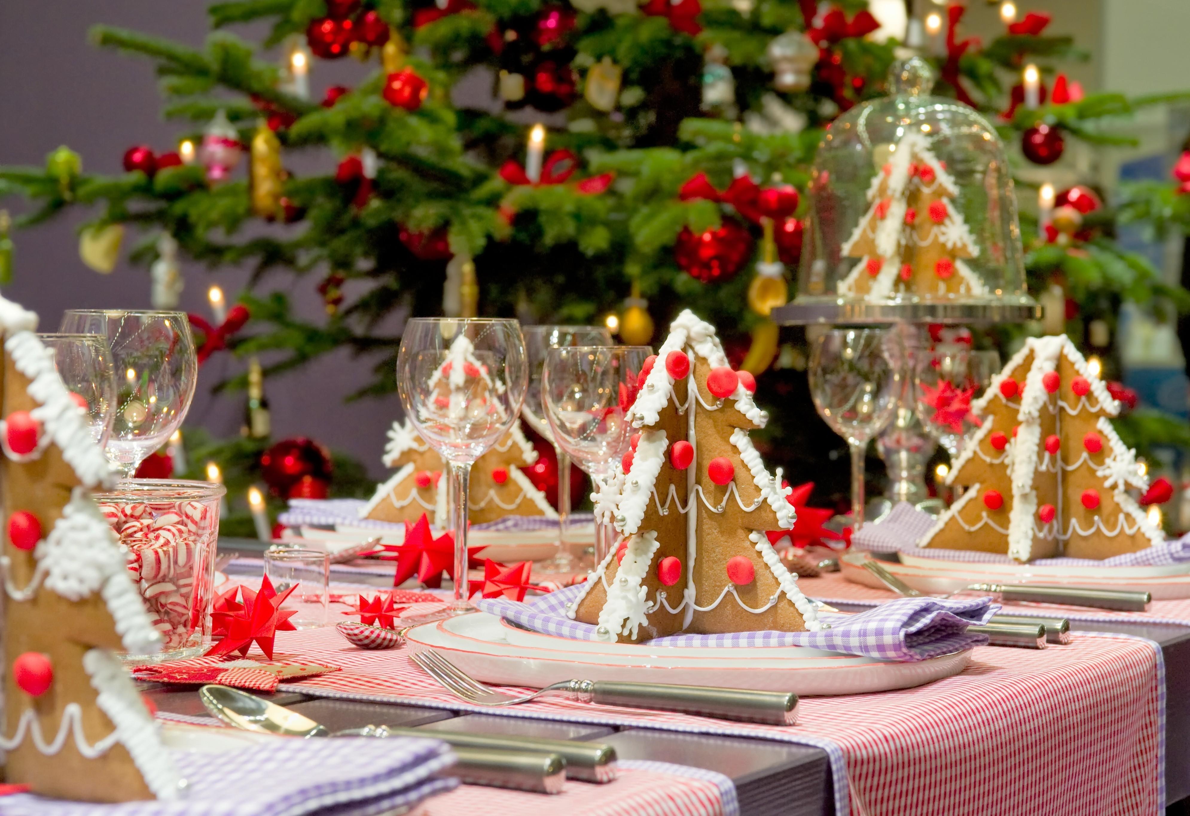 Adorable christmas table decorations 12 ideas