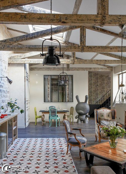 Tapis De Sol Exterieur Castorama Loft With Amazing Details In Paris - Decoholic