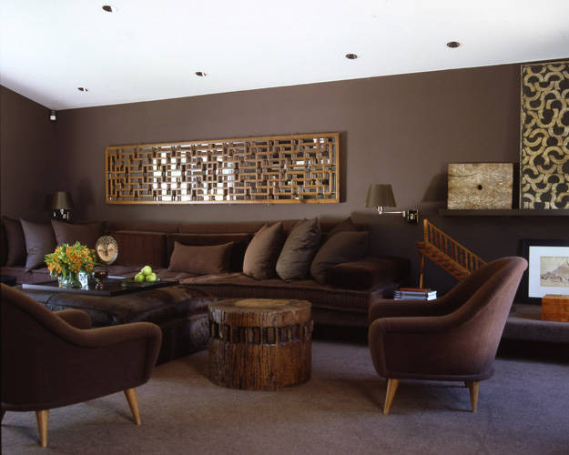 Cojines Chocolate 16 Fabulous Earth Tones Living Room Designs - Decoholic
