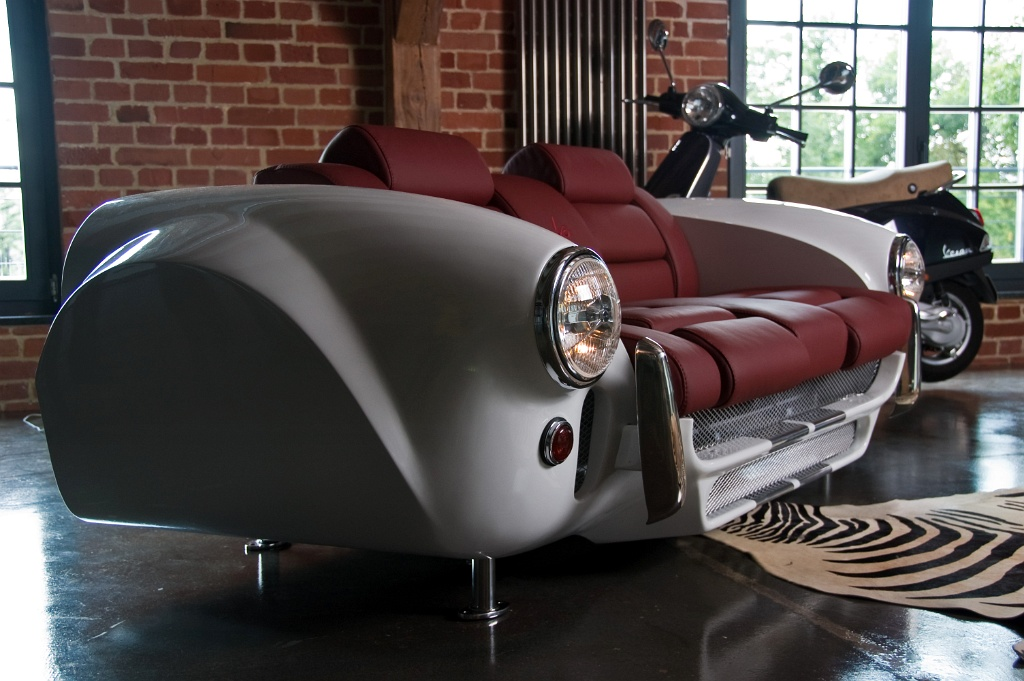 Car Möbel Luxury Furniture Collection Made By Real Car Parts - Decoholic