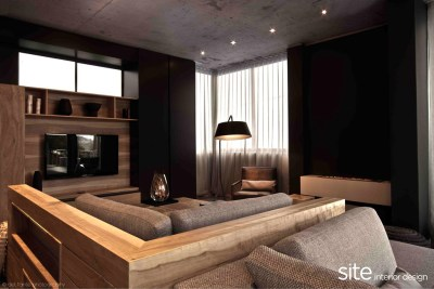 Dramatic Modern House by Site Interior Design - Decoholic
