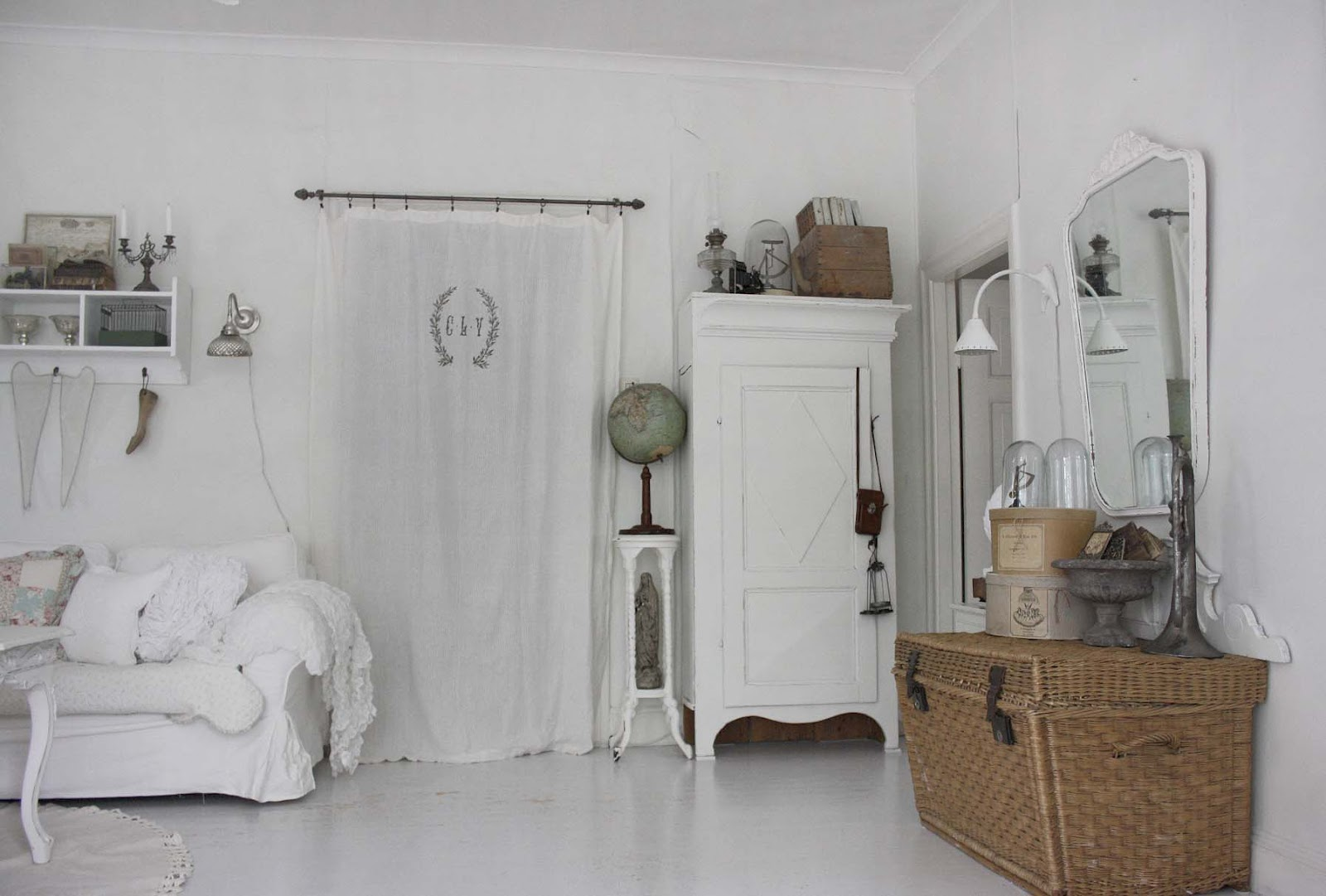 Vorhang Küchentür 37 Dream Shabby Chic Living Room Designs Decoholic