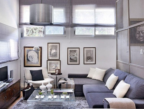 69 Fabulous Gray Living Room Designs To Inspire You - Decoholic - gray couch living room