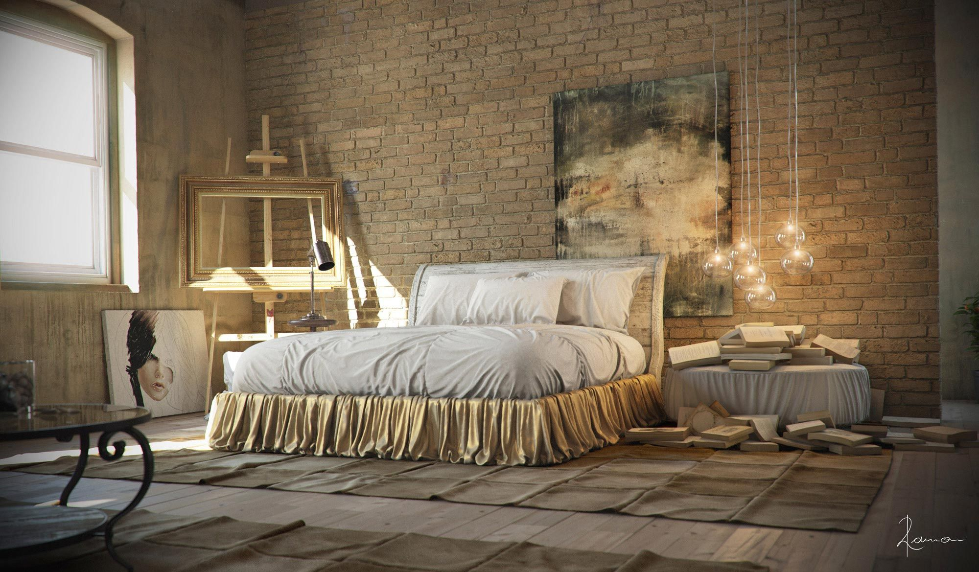 Industrial Chic Decorating Ideas 21 Industrial Bedroom Designs Decoholic