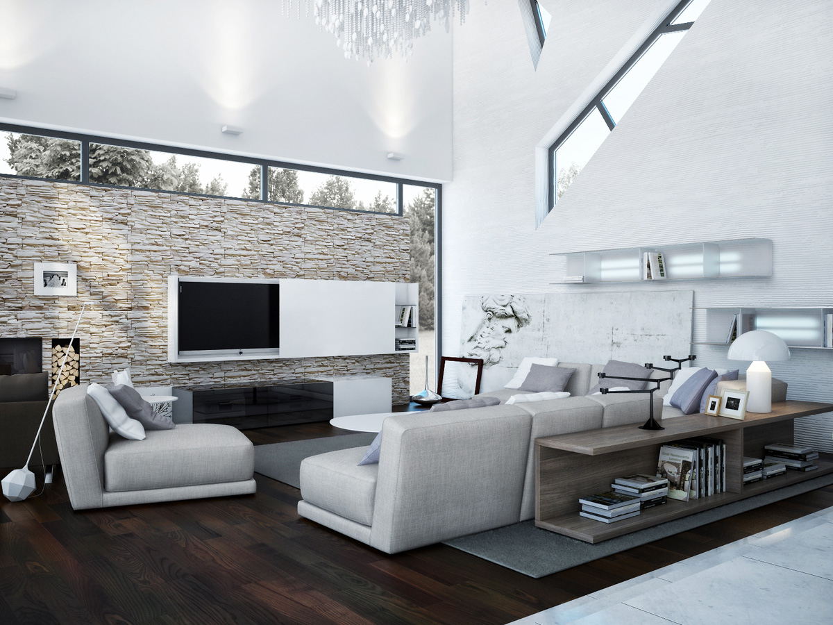 Modern Interior Home Design Contemporary Interior By Azovskiy And Pahomova Architects