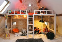 Awesome Attic Loft Kids' Bedroom - Decoholic