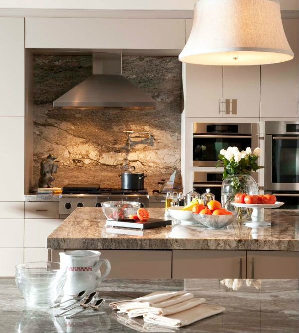 kitchen basically cut stainless sheet mounted backsplash ideas granite countertops kitchen design ideas
