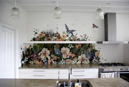 painting kitchen backsplash idea painting kitchen tile backsplash kitchen backsplash