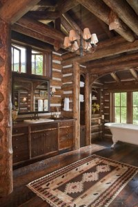 40 Rustic Bathroom Designs - Decoholic