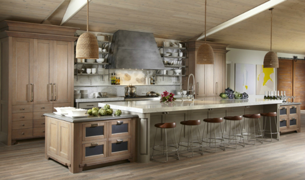 Rustic Cherry Traditional Kitchen Salt Lake City Crown