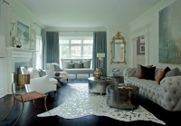 Living Room Ideas: Blend Modern Glamour With Classic ...