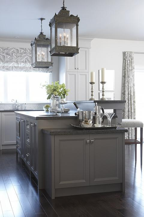 Kitchen Floor Ideas With Gray Cabinets 66 Gray Kitchen Design Ideas - Decoholic