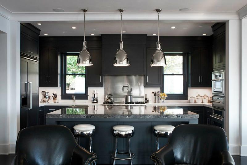 53 Kitchen Lighting Ideas - Decoholic - modern kitchen lighting ideas