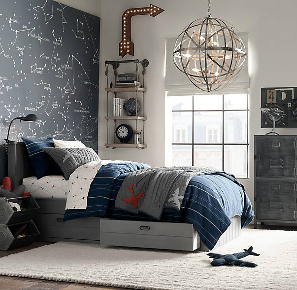 Starwars Slaapkamer 87 Gray Boys' Room Ideas - Decoholic