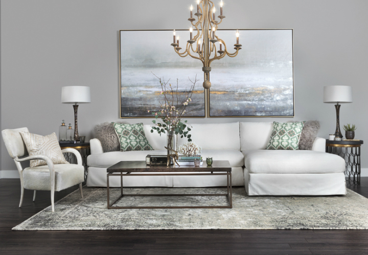 70 Living Room Decorating Ideas For Every Taste - Decoholic - gray and gold living room
