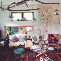 26 Bohemian Living Room Ideas - Decoholic