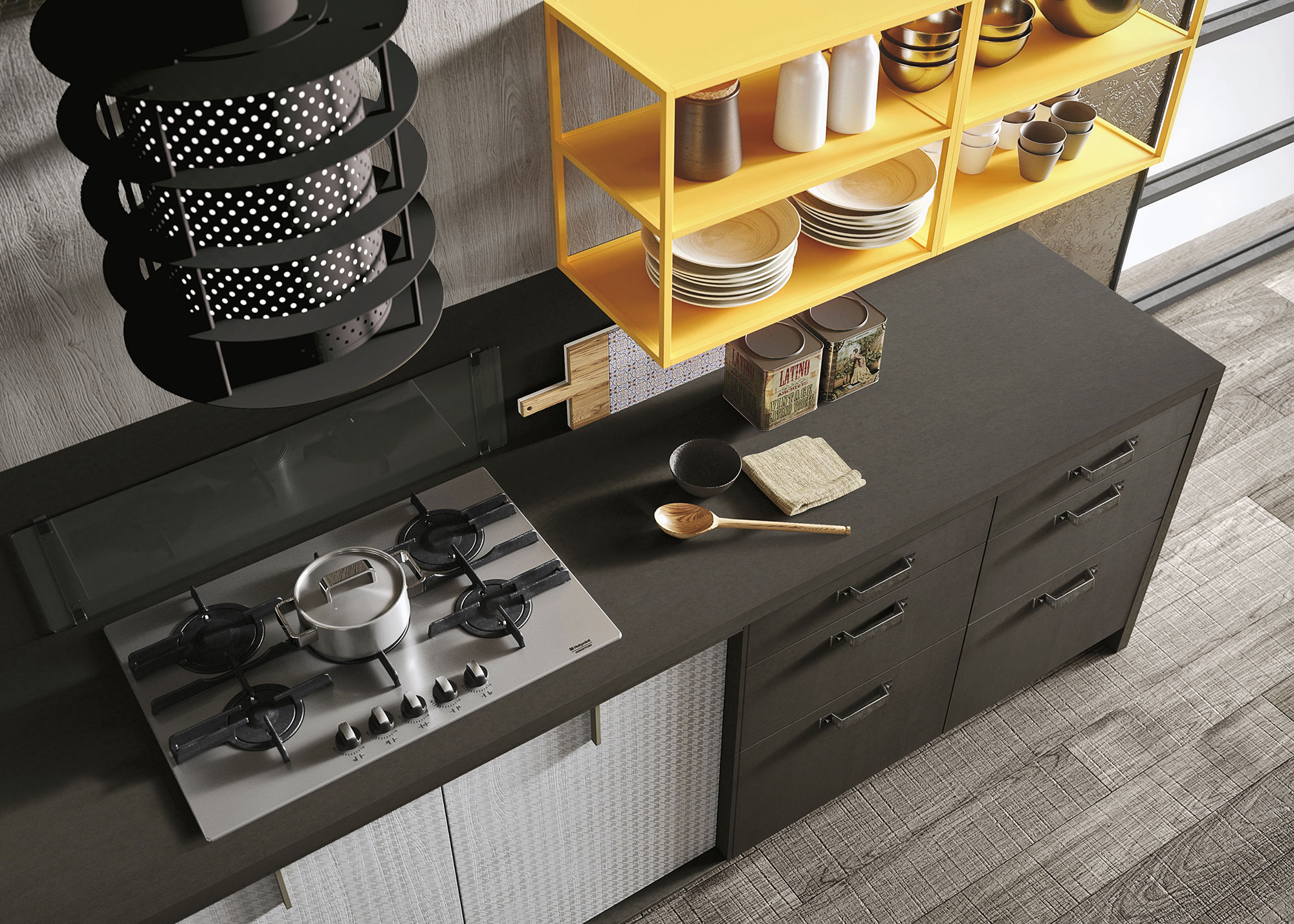 "Cucina Loft Snaidero Prezzo Expression Of The Latest ""urban"" Trends: Loft Kitchen"
