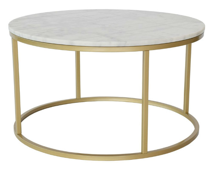 Marmor Couchtisch Messing 10 Best Round Marble Coffee Tables - Decoholic
