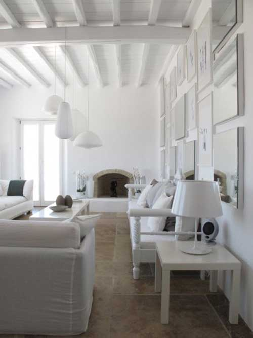 All Modern Furniture Luxurious Villa In Mykonos, Greece - Decoholic