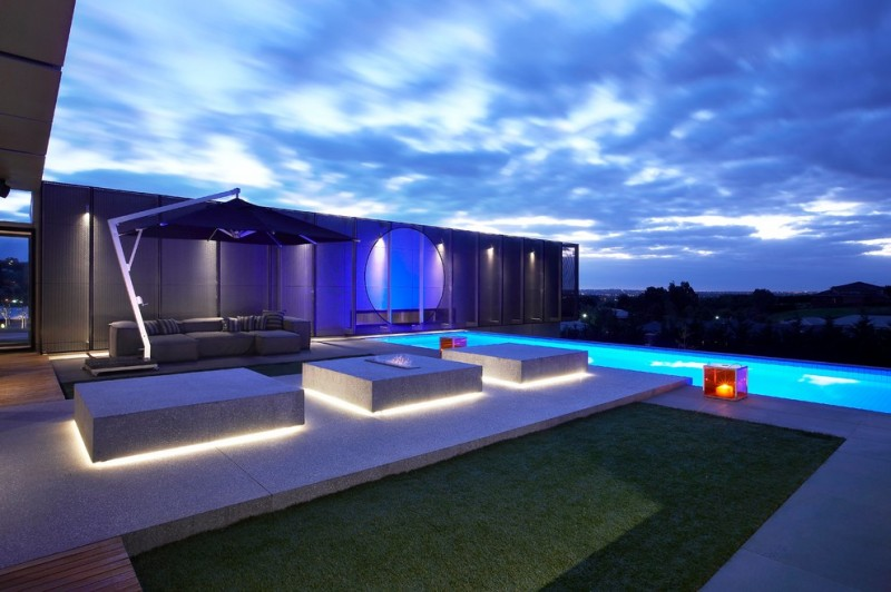 Eclairage Interieur Led Voiture Contemporary Outdoor Lighting For A Stunning Outdoor Area