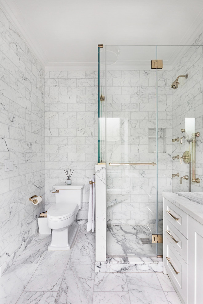 12x24 Tile Shower Fabulous Carrera Marble Bathrooms To Be Awestruck By
