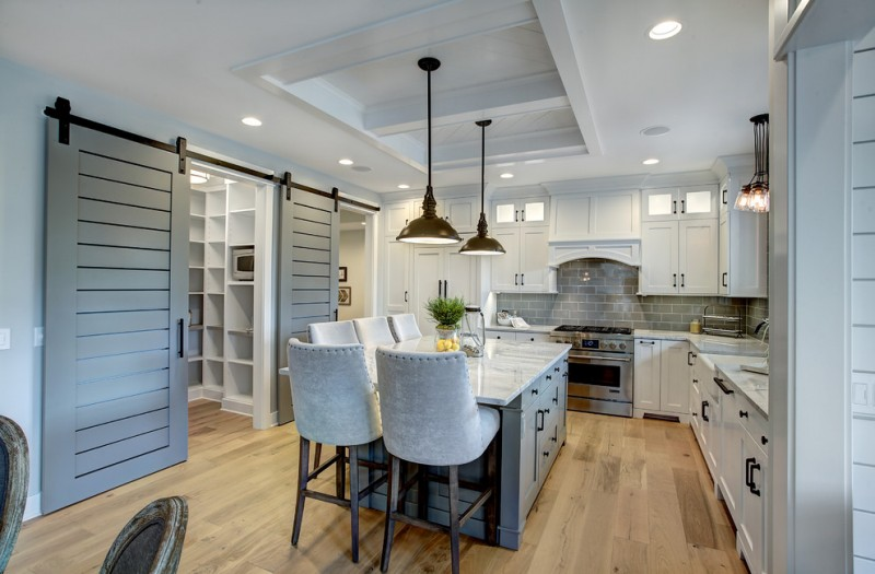 Pics Of Kitchens With Off White Cabinets Tens Of Inspiring Kitchen Islands With Storage And Chairs