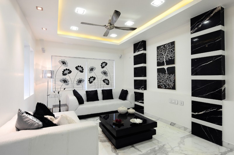 Sofas Direct Furniture Be Simple Yet Modern With These Black And White Living