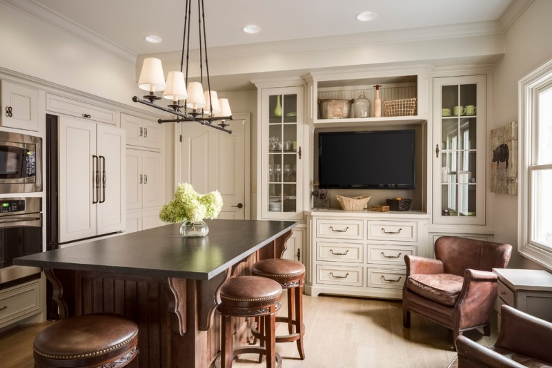 Rug Under Kitchen Table Efficient Built-in Tv Cabinet Ideas To Get Inspiration