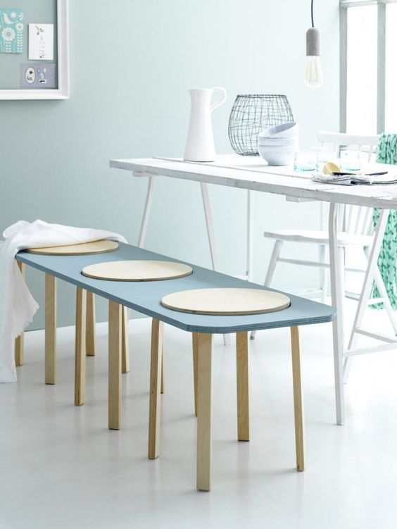Table Chevet Ronde Tabouret Frosta De Ikea: 10 Façons De Les Customiser