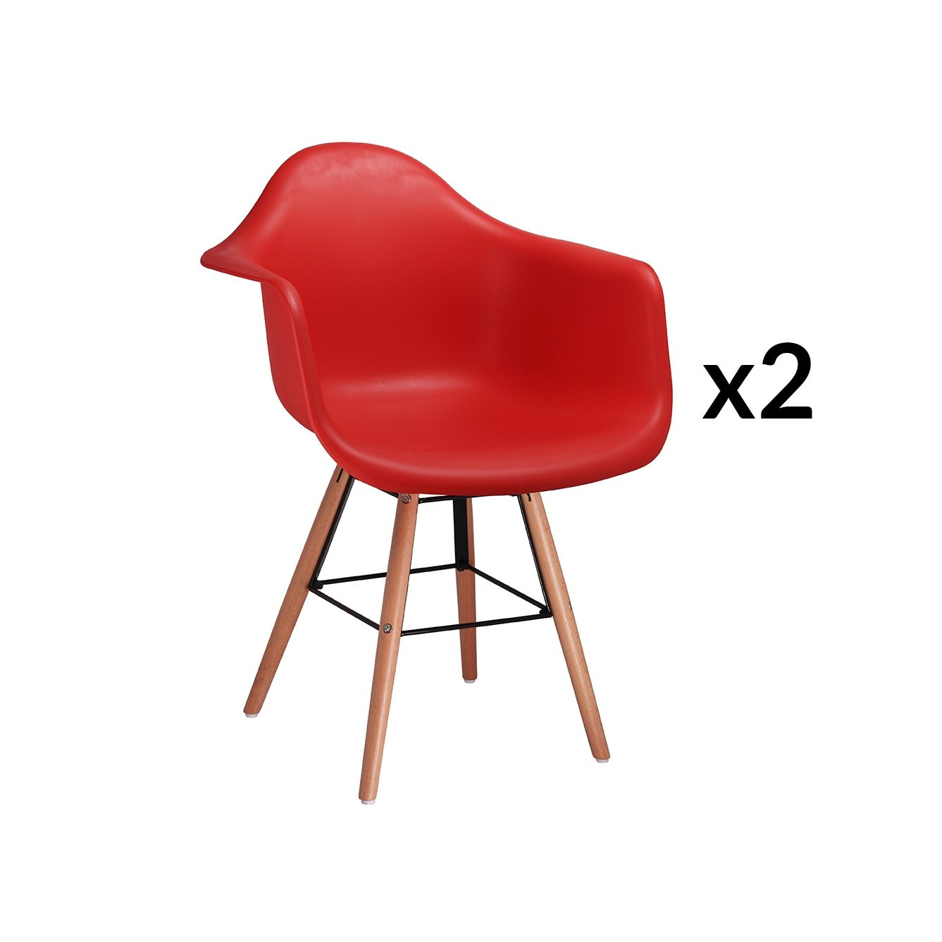 Chaises Rouges Chaises Rouges Simple Chaise Rouge Et Blanche Brema With