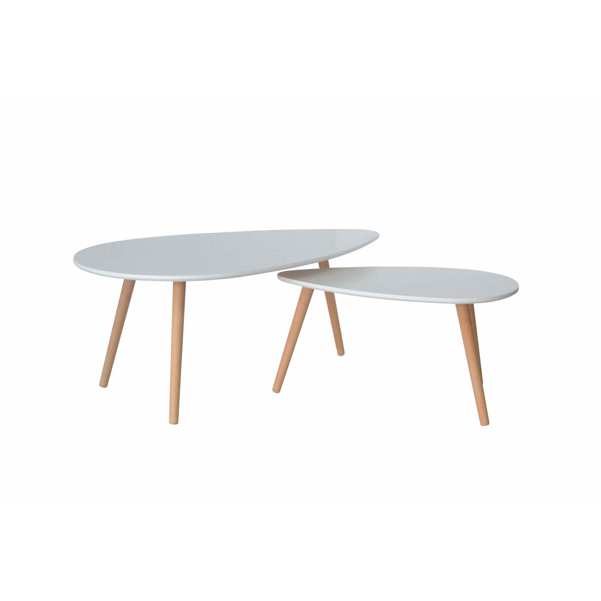 Table Basse Blanche Scandinave Deco In Paris Table Basse Scandinave Blanc Avesta Avesta