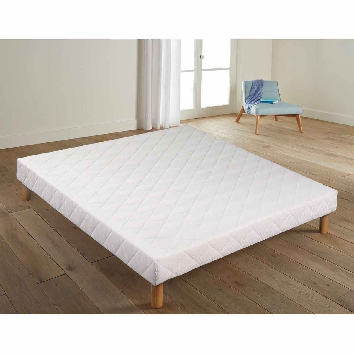 Sommier 4 Pieds Sommier Tapissier 160 X 200 Cm 4 Pieds