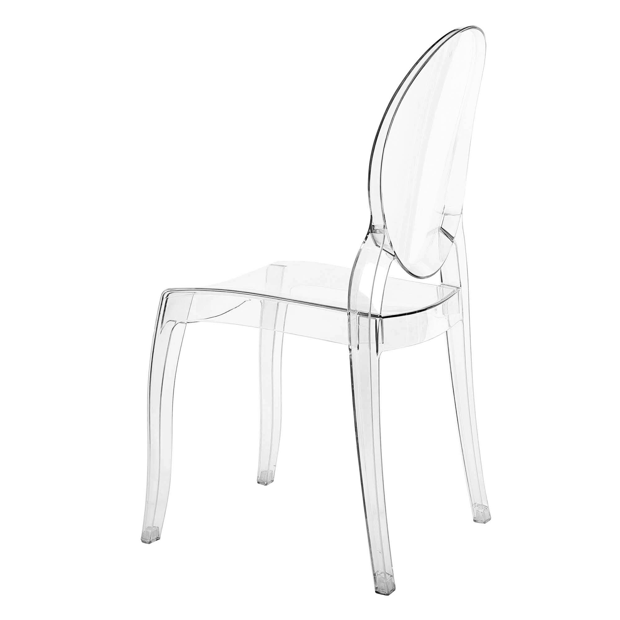 Lot 4 Chaises Transparentes Deco In Paris Lot De 4 Chaises Transparent En Plexi