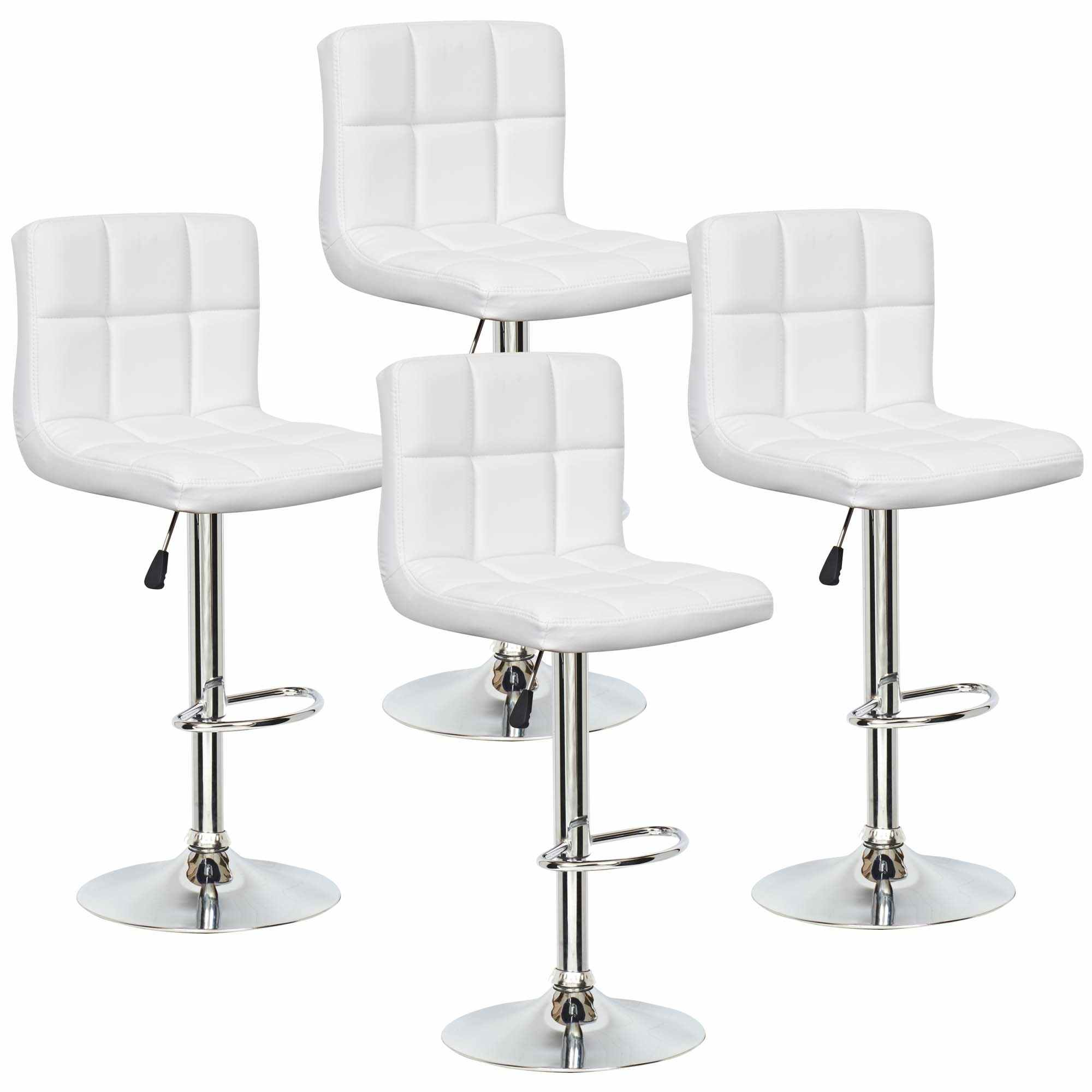 Tabourets Bar Deco In Paris Lot De 4 Tabourets De Bar Blanc Scalo Scalo Tab