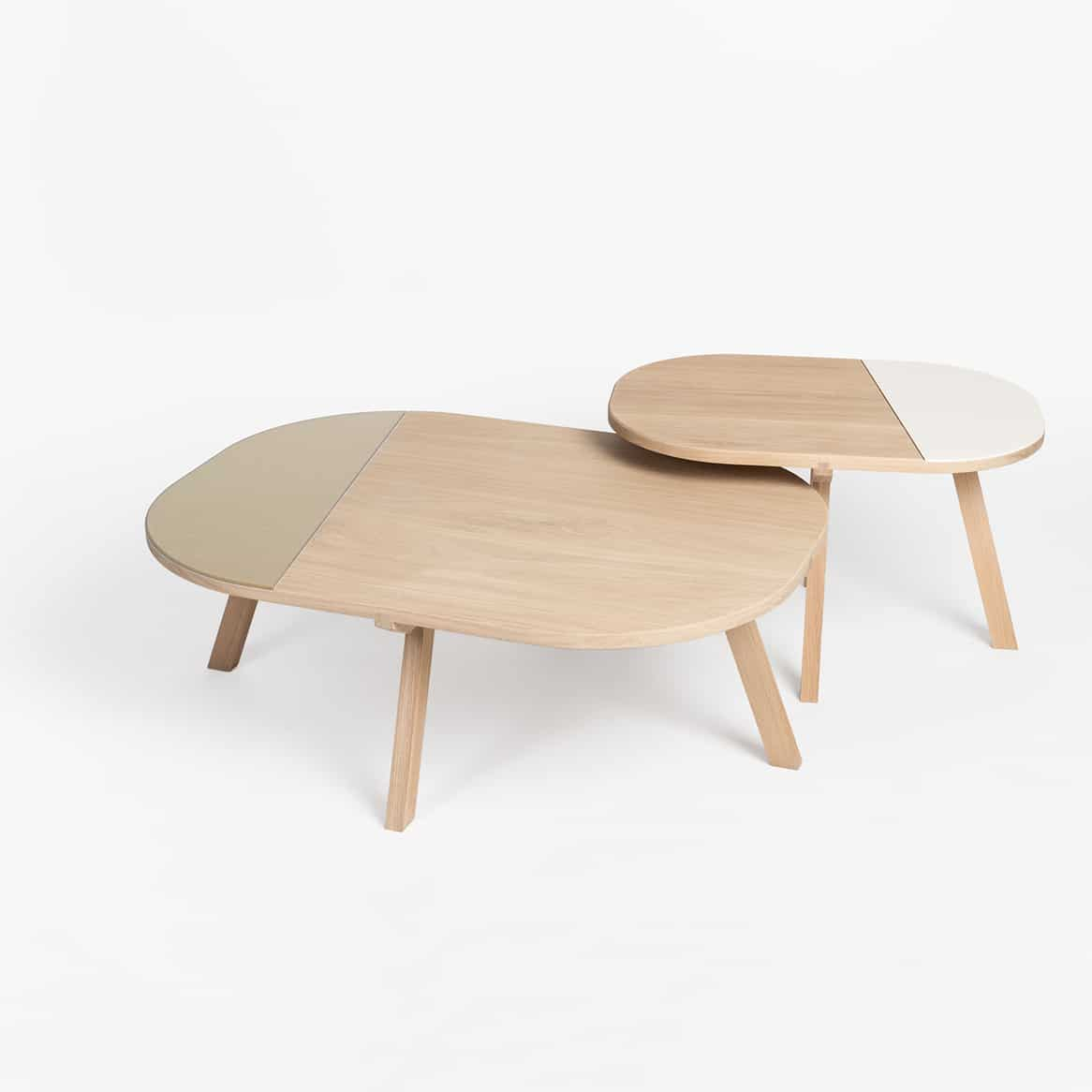 Taille Table Basse Table Basse Aronde Style Scandinave Par Drugeot