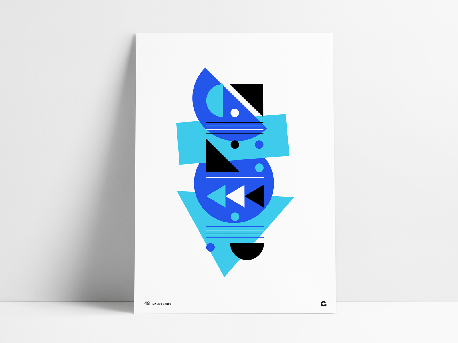 25 Handsomely Created Organic Shapes In Poster Design Decolore Net