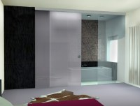 Trendy Bathroom Sliding Glass Doors for Decorating Your ...