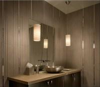 White glass globe pendant bathroom lighting ideas for ...